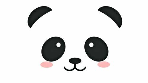 Cute Panda T shirt Transfer,bibs,bags and Cushions