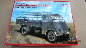 Lastkraftwagen 3.5 t AHN, WWII German Army Truck, WWII 1/35 ICM # 35416