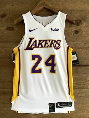 Kobe Bryant Authentic Nike Lakers Jersey New With Tags. #24 with WISH Patch | eBay