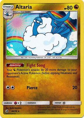Pokemon Dragon Majesty Altaria #40 Holo Rare Reverse Holofoil Near Mint