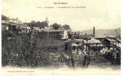 (s-100394) France - 48 - St Germain De Calberte Cpa Labouche Freres Ed. Het Voeden Van Bloed En Het Aanpassen Van De Geest