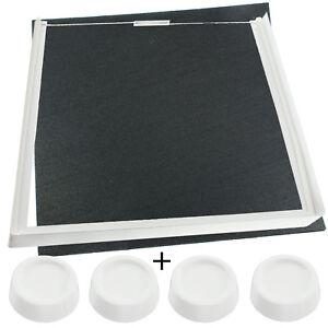MéThodique Empilage Kit Vibration Tapis & Pieds Pour Electrolux Sèche-linge Machine à Laver-afficher Le Titre D'origine Riche Et Magnifique