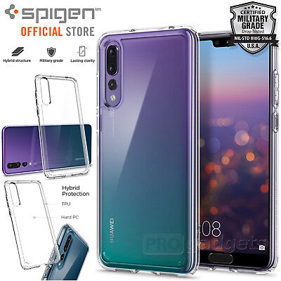 on sale a1c05 c1ffc Huawei P20 Pro Case, Genuine SPIGEN Ultra Hybrid Air Cushion Cover for  Huawei | eBay