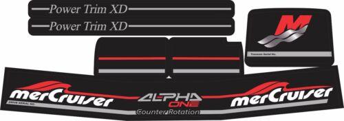 MERCRUISER NEW COMPLETE ALPHA ONE GEN.2 COUNTER ROTATION W//GRAY RAM STICKER