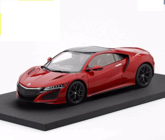 TSM 1 18 HONDA Acura NSX Resin Model Red rare