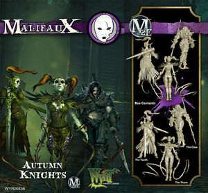 Malifaux-Neverborn-Autumn-Knights-box-plastic-Wyrd-miniatures-32-mm-new