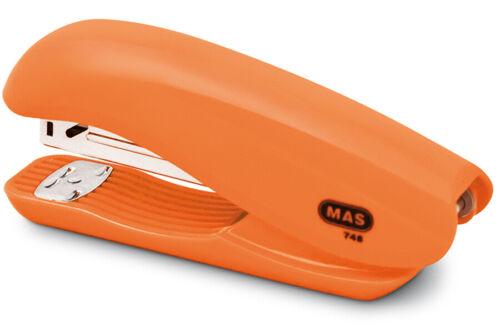 """MAS 748/""""Dolphin/""""Heftgerät 20 Blatt orange"""