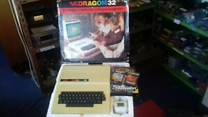 RARE-VINTAGE-DRAGON-DATA-32-COMPUTER-SYSTEM-VGC-BOXED-SOFT