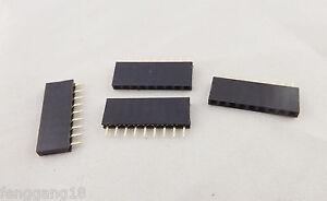 "2x 40 Way Single Row PCB Header Plug 0.1/"" 1st CLASS POST 2.54mm"