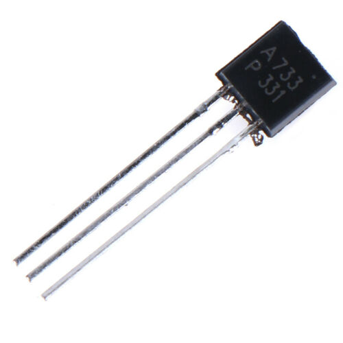 100PCS 2SA733 TO-92 new Throught Hole low power triode Transistor KQ