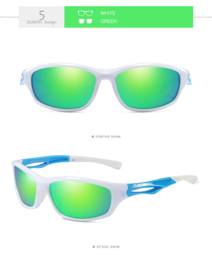 DUBERY Mens Womens Polarized Sunglasses Driving Fishing Outdoor Eyewear Shades