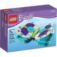 Lego - Friends - Rare Exclusive - 40156 Butterfly Organizer - & Sealed
