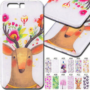 For-Huawei-Honor-9-Silicone-Cover-TPU-Soft-Skin-Back-Shockproof-Protective-Case