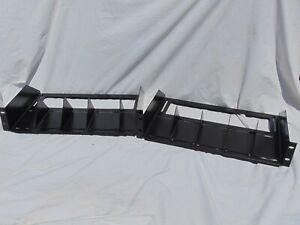 19-034-reglable-montage-en-rack-Recepteur-etagere-Noir