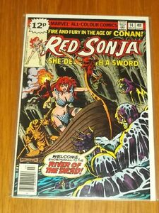 RED-SONJA-14-FN-6-0-MARVEL-COMICS-MARCH-1979