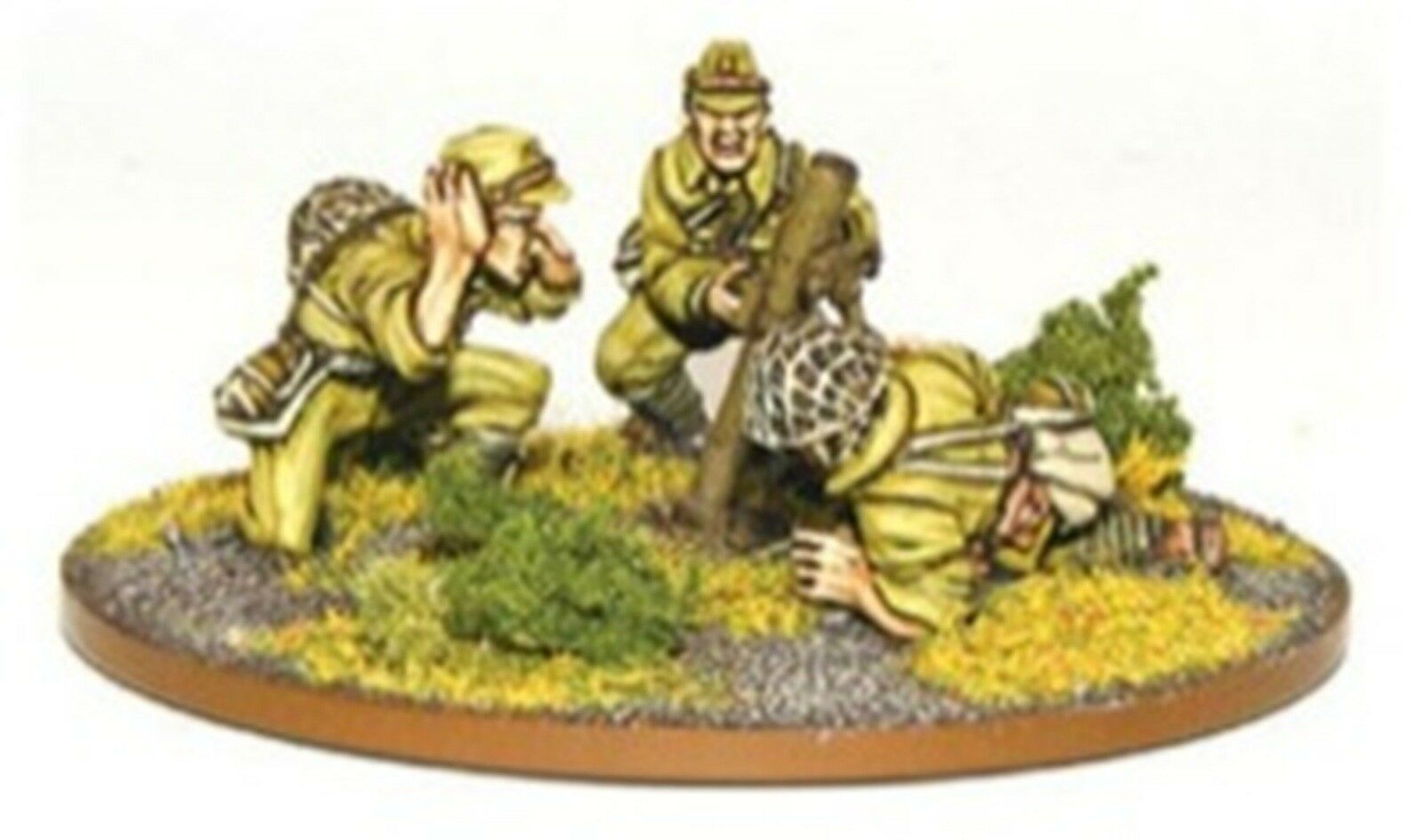 NEW BOLT ACTION MINIATURES IMPERIAL JAPANESE 81MM MORTAR COLLECTIBLES WGB-JI-25