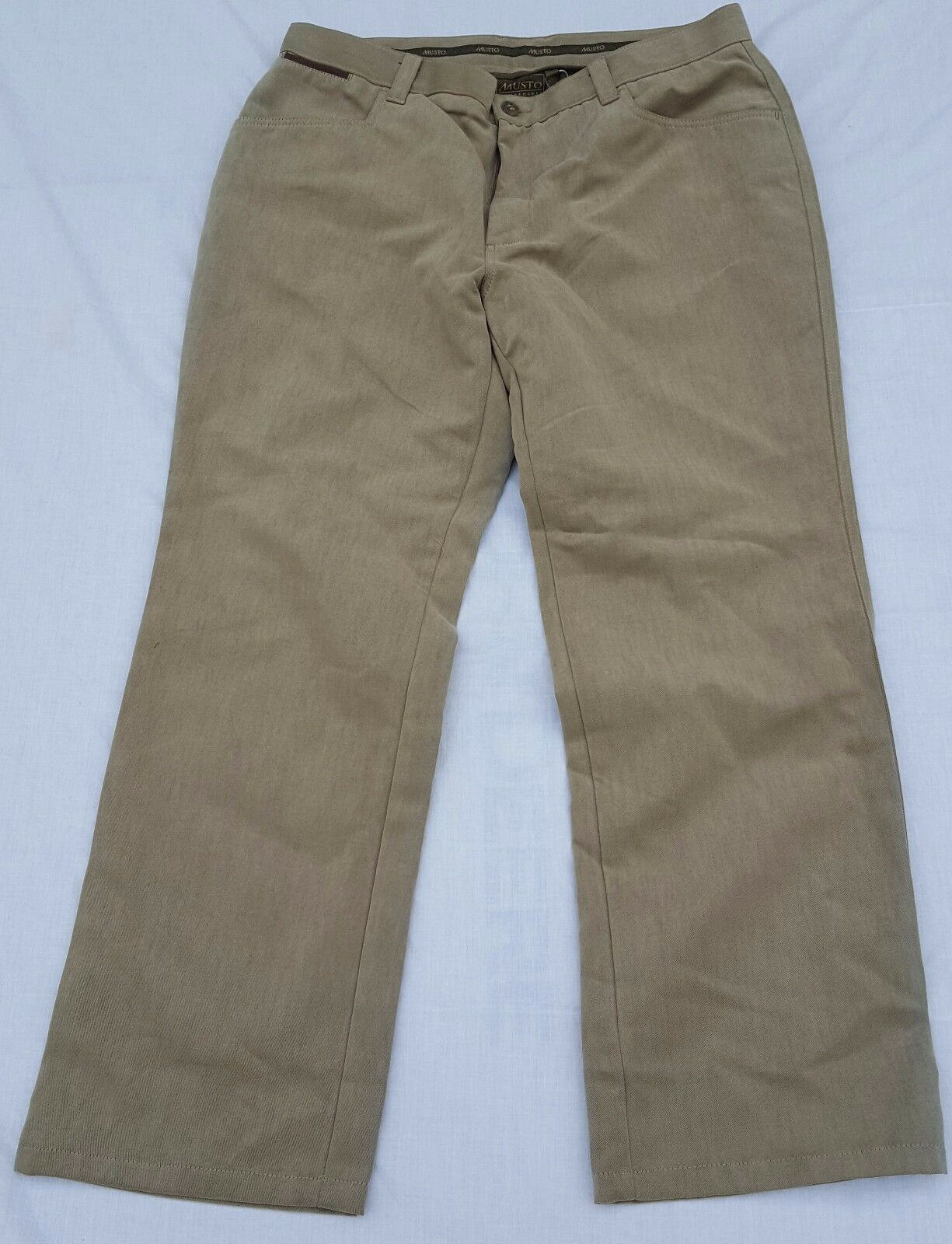 SHOP SOILED Musto Mens Country Technical Trousers Dark Stone- Size 38 Regular