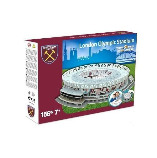 WEST HAM UNITED LONDON STADIUM 3D PUZZLE