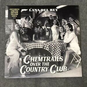Lana Del Rey Chemtrails Over The Country Club Yellow Vinyl
