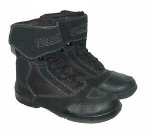 gt-gt-gt-034-PROBIKER-034-Damen-Schnuer-Stiefel-Biker-Boots-in-schwarz-in-Gr-38