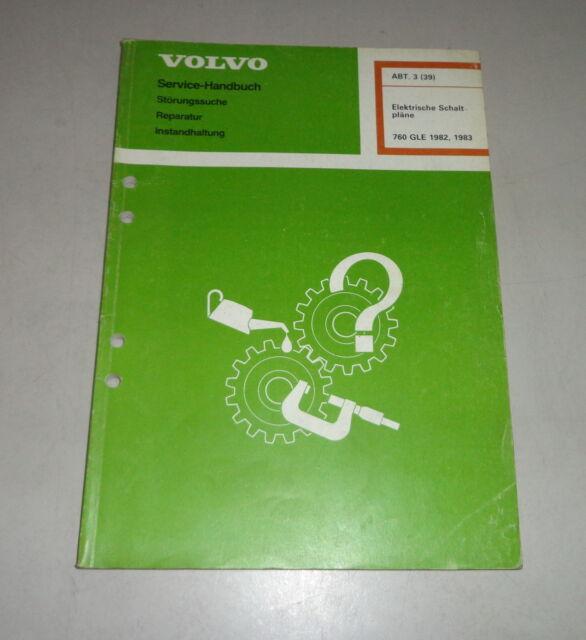 Workshop Manual Electric  Electric Schematics Volvo 760 Gle