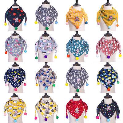 EE/_ QA/_ Kids Unisex Winter Warm Cotton Collar Neckerchief Baby O Ring Neck Scarf