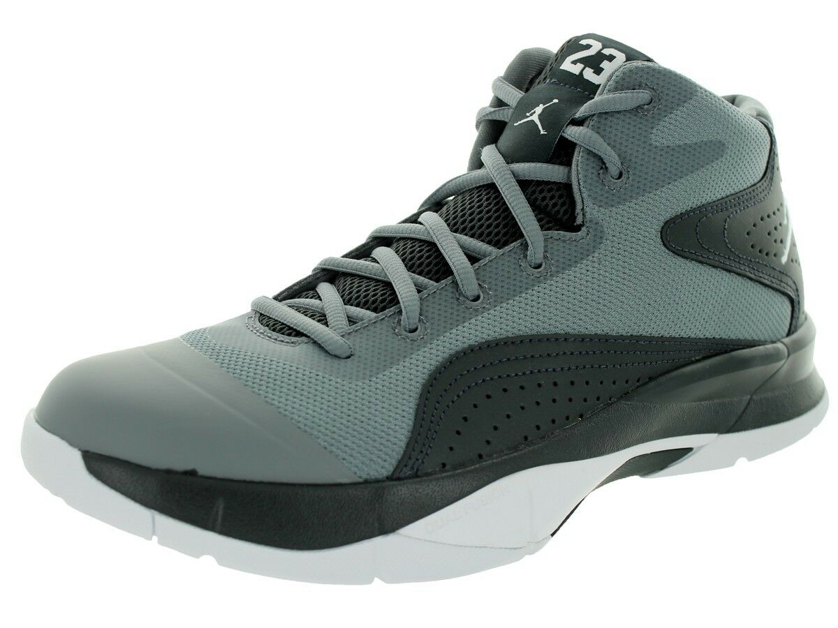 Air Jordan Courtvision '00 Cool Grey/Wht/Anthracite Sz 8-NIB