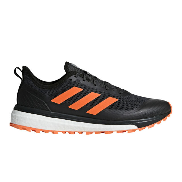 reputable site 27e8a 151d5 adidas Response Trail Boost Men's Running Hiking Shoes Size US 9 Black  Bb6608