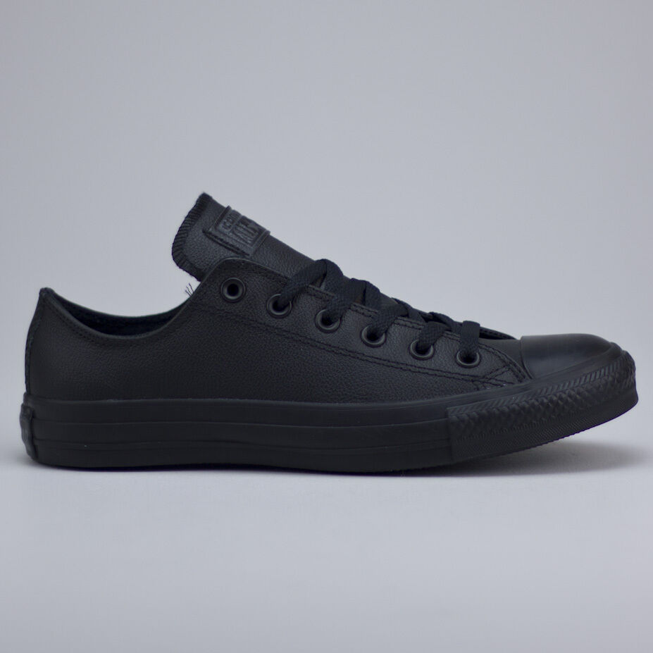 Converse All Star Ox Leder Trainers New in box UK Größe 3,4,5,6, 7,8,9,10,11