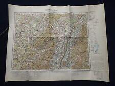 Landkarte von Mitteleuropa 1:300 000, K 49 Straßburg, Offenburg, Colmar, 1940