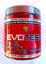 BSN EvoTest Powder (30 srv. Full Month Supply) Black Cherry - Axis HT NO Xplode