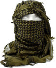 Olive Drab Shemagh Lightweight Arab Tactical Desert Keffiyeh Scarf - 43