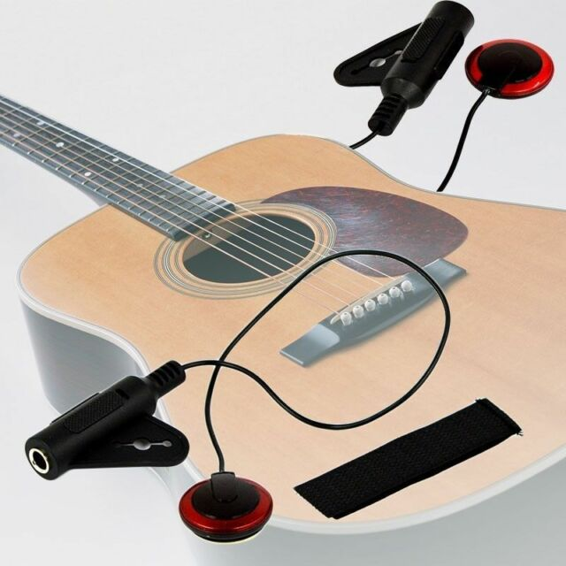 Acoustic Piezo Contact Microphone Pickup for Guitar Ukulele Violin Mandolin