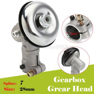 Universal 7 Spline 28mm Gear Box Gear Head Assy Assembly Fits Strimmer Trimmer