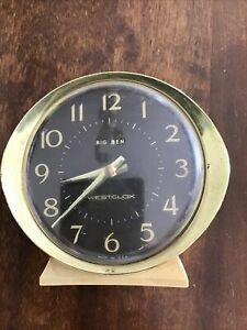 Big Ben Westclox Wind Alarm Clock Vintage Made In USA Does Not Work/buy4parts