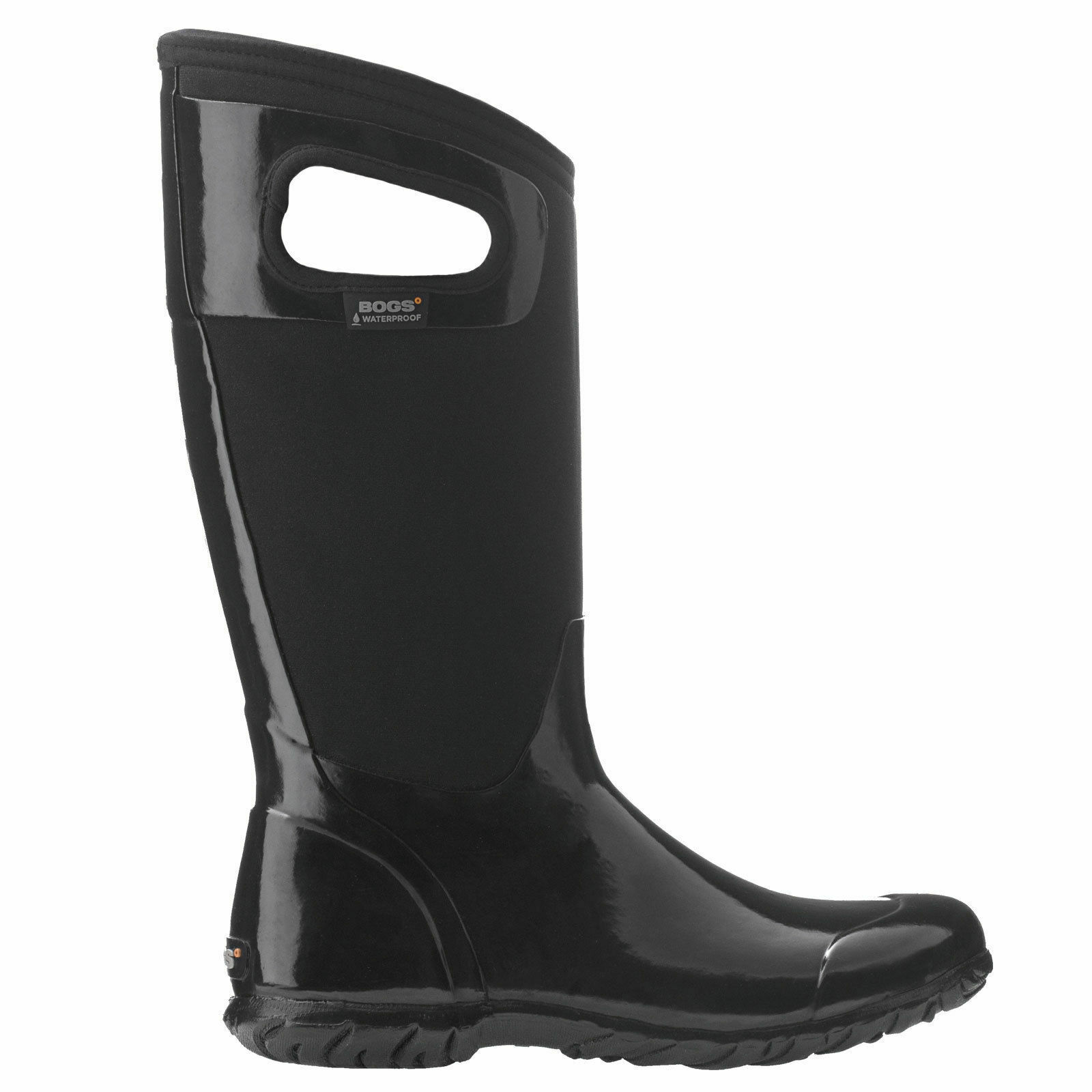 Bogs North Hampton Sólido Negro Cálido aislado Wellies UK 8 EU 42 LN49 64