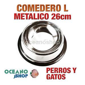 COMEDERO-BEBEDERO-T-L-METALICO-PERRO-Y-GATO-26cm-MUY-RESISTENTE-D110-DW00135