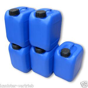 2 x 25 Liter Kanister weiß Wasserkanister Getränkekanister Frischwasser Behälter