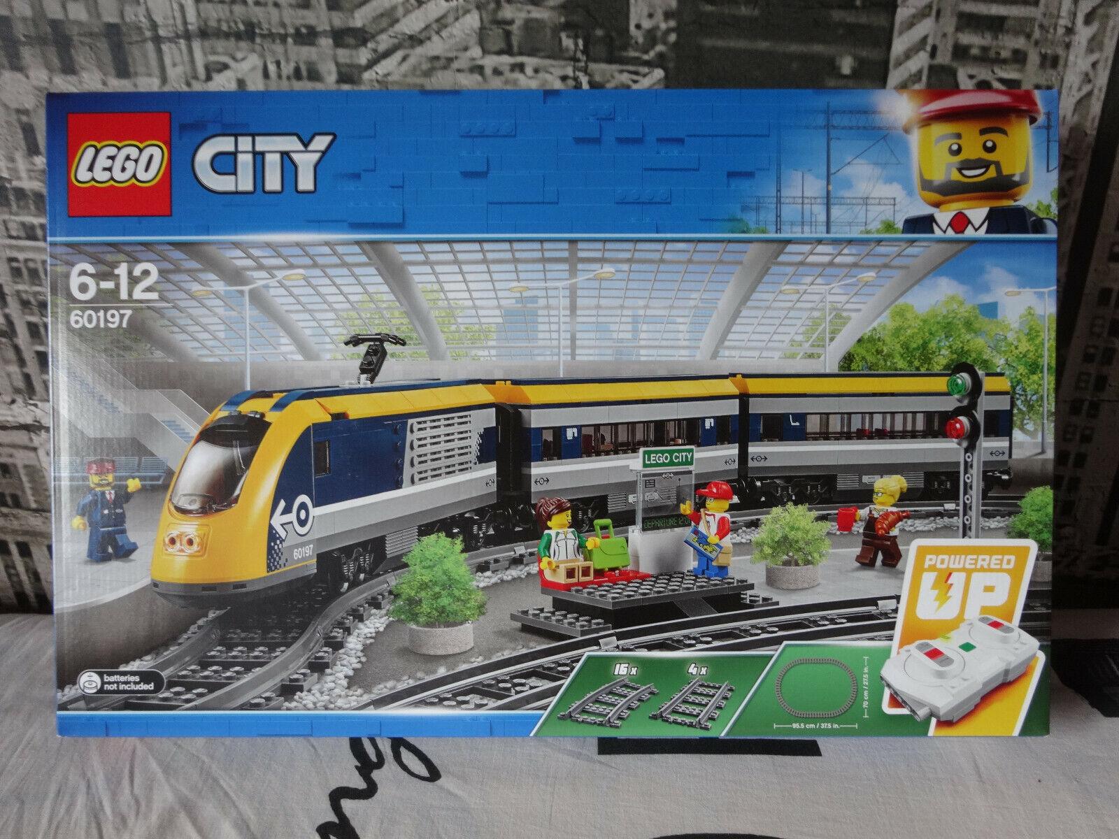 Lego 60197 - Lego City tren de pasajeros -2