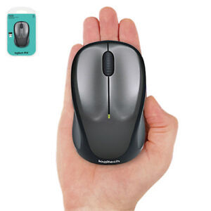 Logitech M235 Wireless Mouse Unifying 10m 1000 DPI Black For PC
