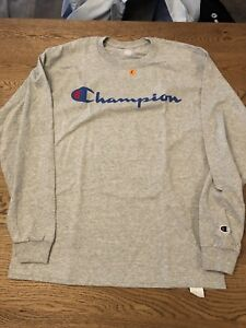 3403c956e Image is loading NWT-Champion-Life-Patriotic-Logo-Supreme-Heather-Grey-