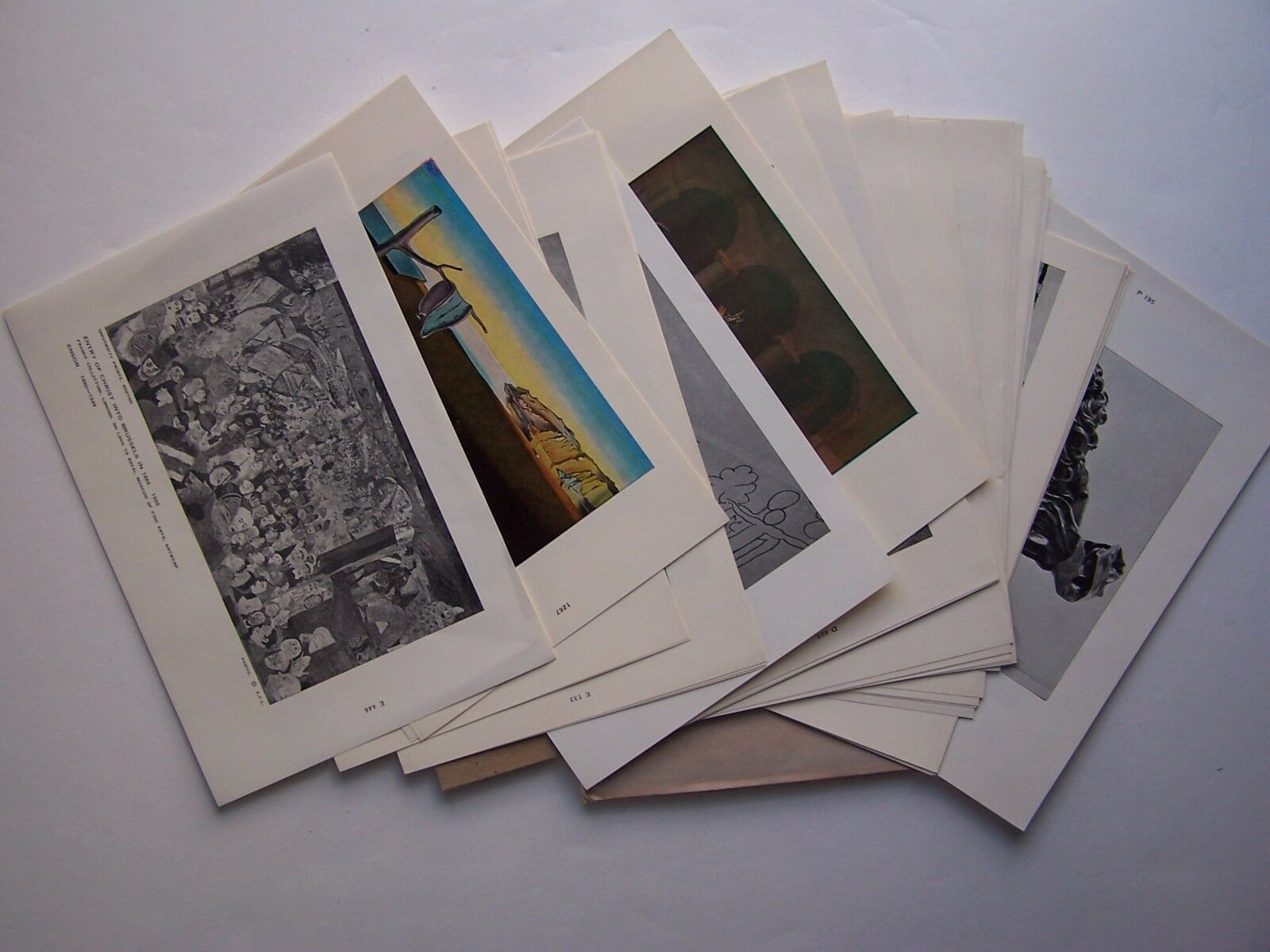 Art And Art History 202 Prof Geiger 40 Prints Packet