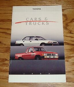 Mint! 1988 Dodge Dakota Pickup Truck Sales Brochure