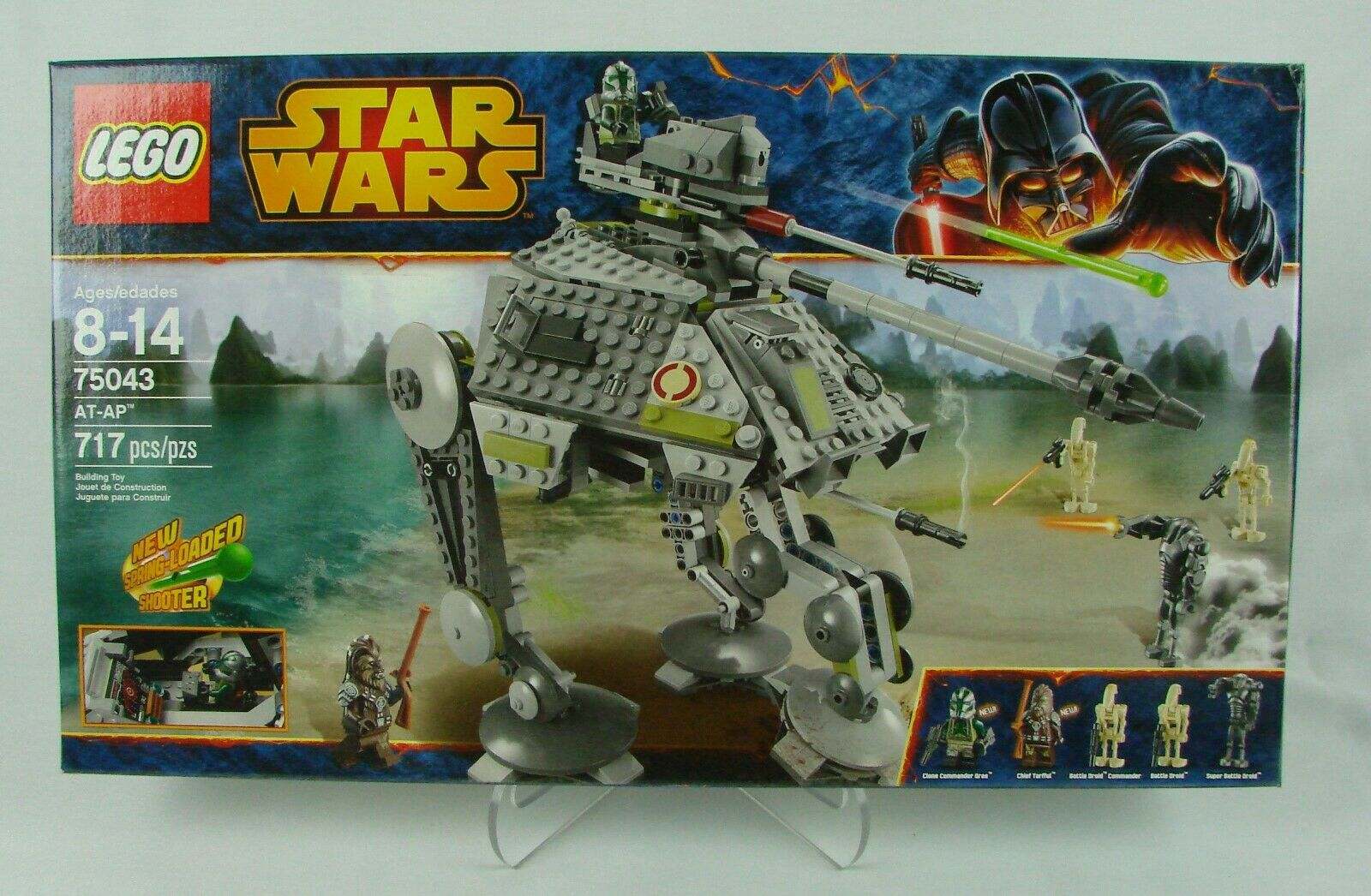 Lego  Star Wars episode III   AT-AP  (2014) 717 pcs  New In Sealed Box