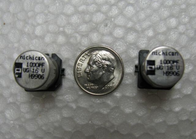 10pcs 1000uF 63V 16x25mm Radial Electrolytic Capacitors US Seller CAP0013-10
