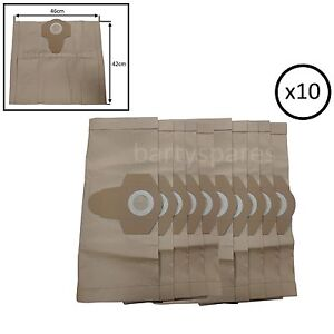 10-x-Extra-Strong-Dust-Bags-for-Draper-54257-1400W-30L-Vacuum-Cleaner-hoover