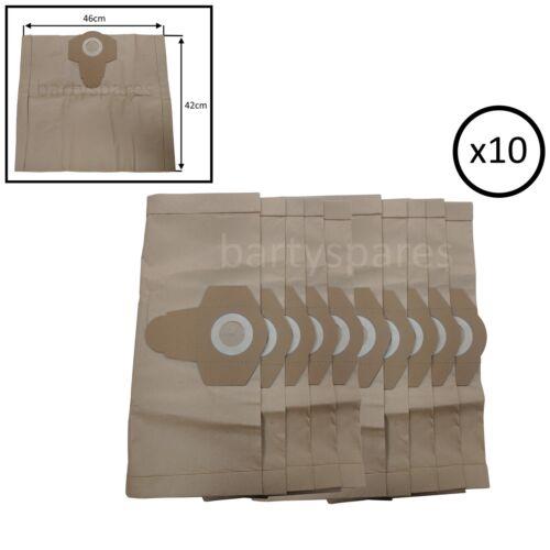 10 sacchetti forti per Einhell TC-VC 1930 SA Aspirapolvere TCVC 1930SA