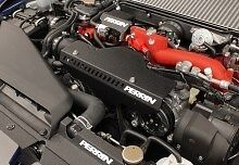 BLACK 2.5RS Radiator Shroud SALE Perrin 02 03 04 05 06 07 Subaru WRX STi