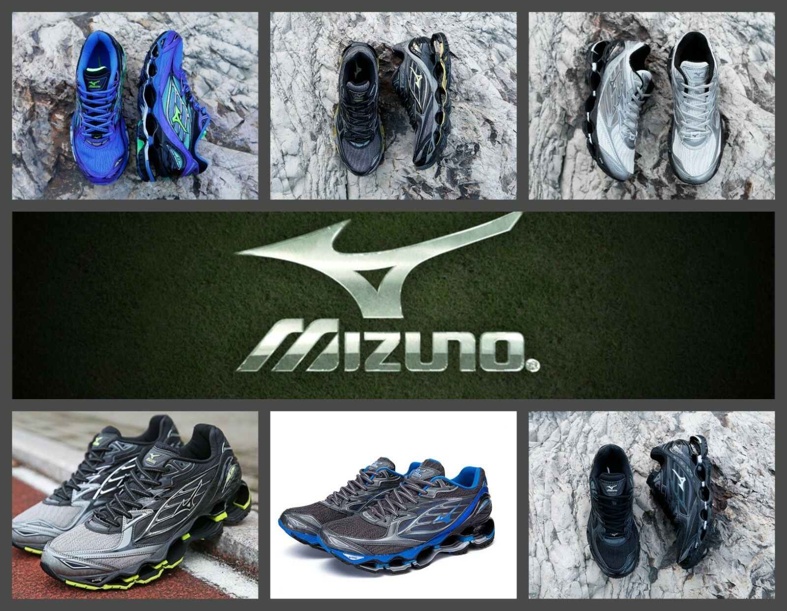 MIZUNO MENS WAVE PROPHECY 6 MULTICouleur RUNNING chaussures 2018 BEST SELLER