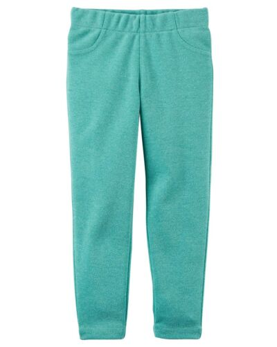 New Carter/'s Girls Green Jeggings Glitter Pants NWT 4 5 6 7 8 Sparkle Holiday